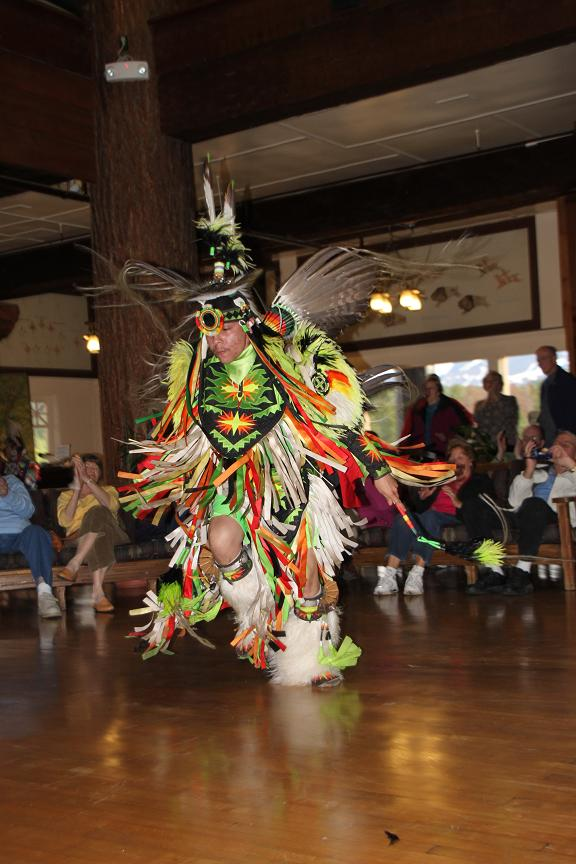 Traditional Blackfeet Dancing