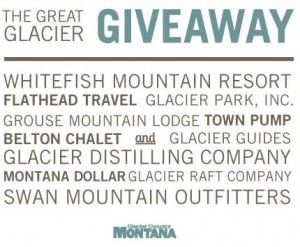A WINNER for the Great Glacier Giveaway!