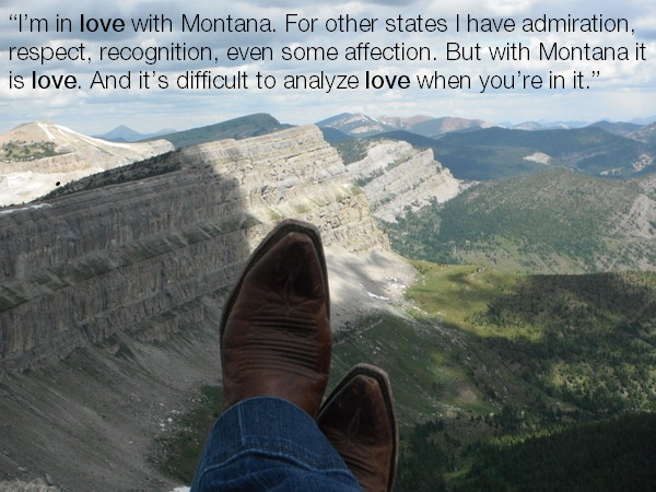 A Montana Girl's Love List