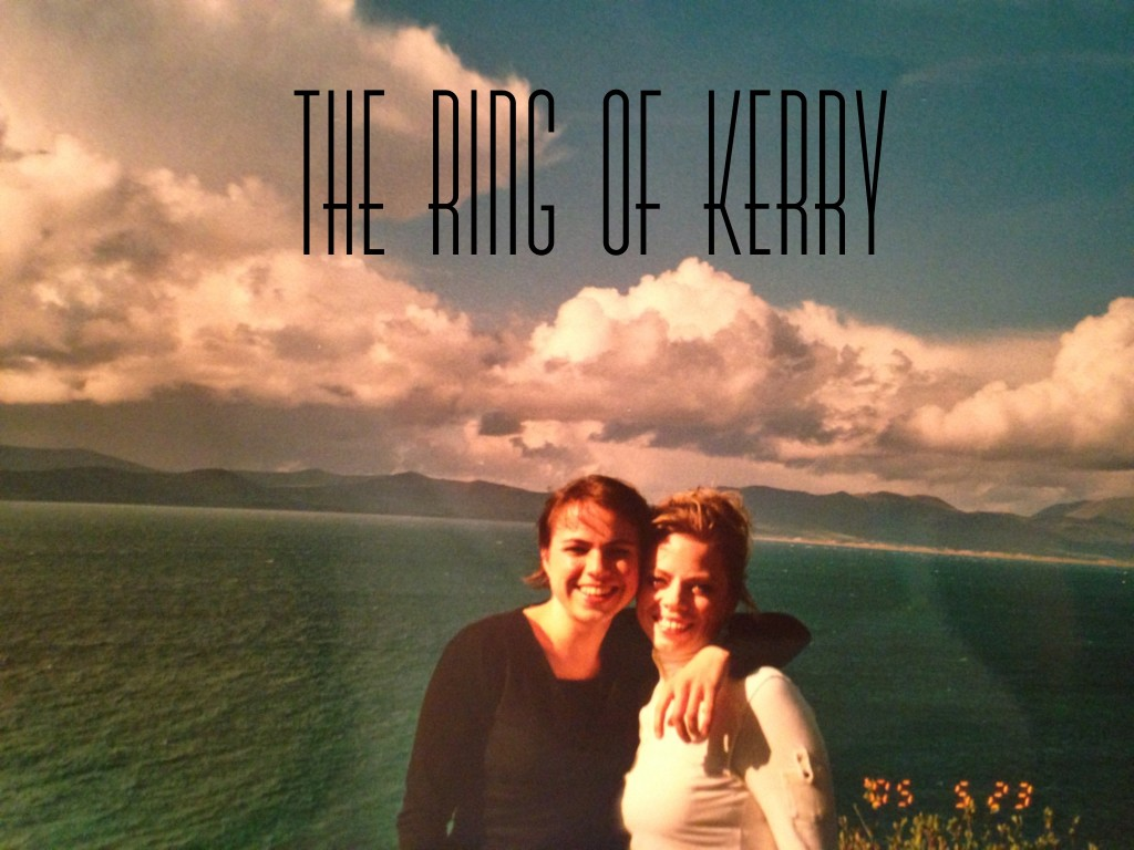 Sister bonding along the Ring of Kerry.