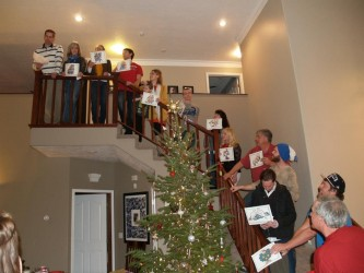 """Christmas Eve practically requires a rousing rendition of """"The 12 Days of Christmas."""""""