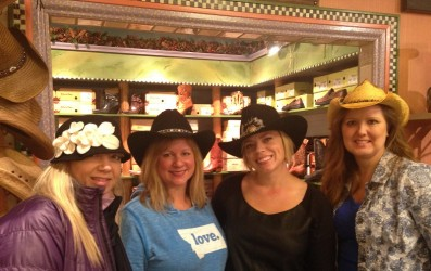 S.M. Bradford has THE cutest hats and boots in the Flathead Valley.