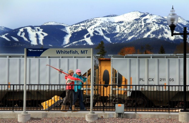 Ride Amtrak's Empire Builder to Whitefish, Montana