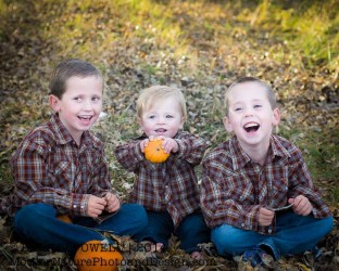 Three sweet Montana nephews. Photo: Brandi Powell