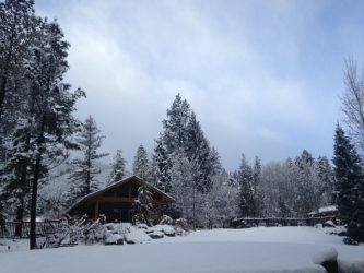 One of the most stunning things about Triple Creek Ranch: the setting.