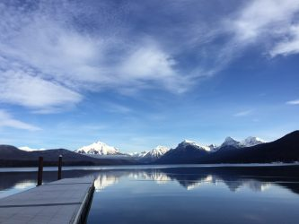 Lake McDonald on a perfectly morning.
