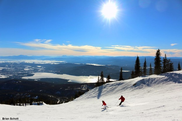 Winter in Whitefish, Montana