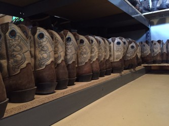 Another bonus: the activity center has rows and rows of cowboy boots and other western gear for guests to borrow.