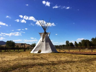 Z5 is located on the Flathead Indian Reservation. An added bonus: guests can stay in the tipis at the ranch.