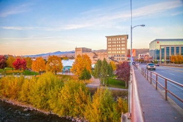 Fall in downtown Missoula. Photo: Taylar Robbins