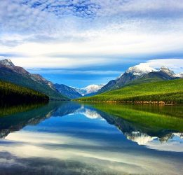 Bowman Lake in Glacier National Park. Photo by Jesse Hansen.