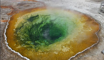 Morning Glory Pool in Yellowstone National Park. Photo: