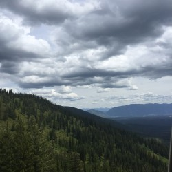 The views from Whitefish Mountain Resort never cease to amaze me.