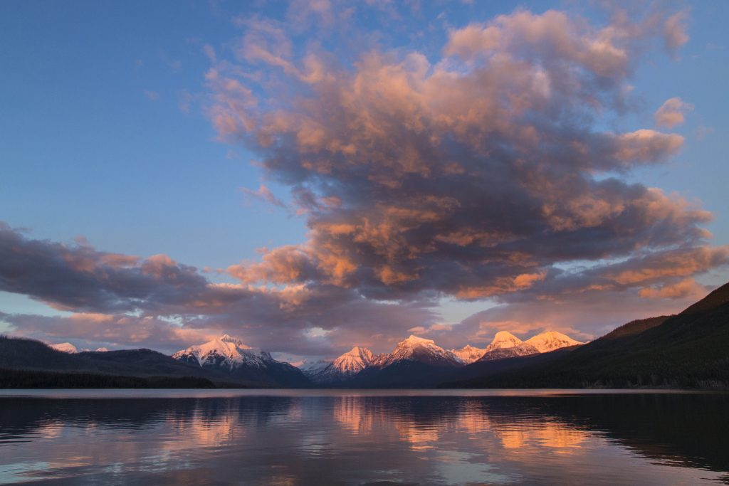 Sunset at Glacier National Park. Photo: NPS / Jacob W. Frank