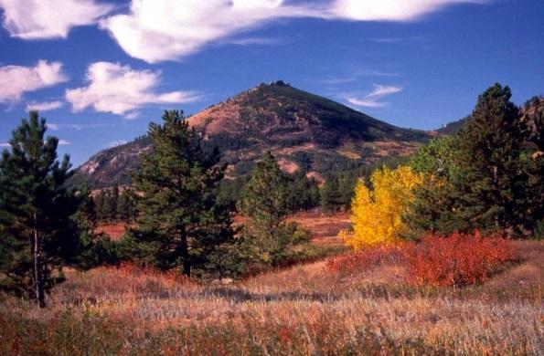 The Little Rockies near Zortman.