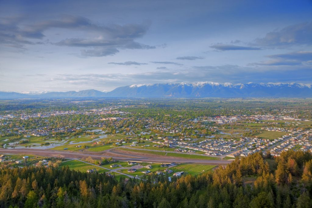 First things first, let's talk about how pretty Kalispell is. This is the view from Lone Pine State Park. Photo: Chuck Haney (courtesy Discover Kalispell)