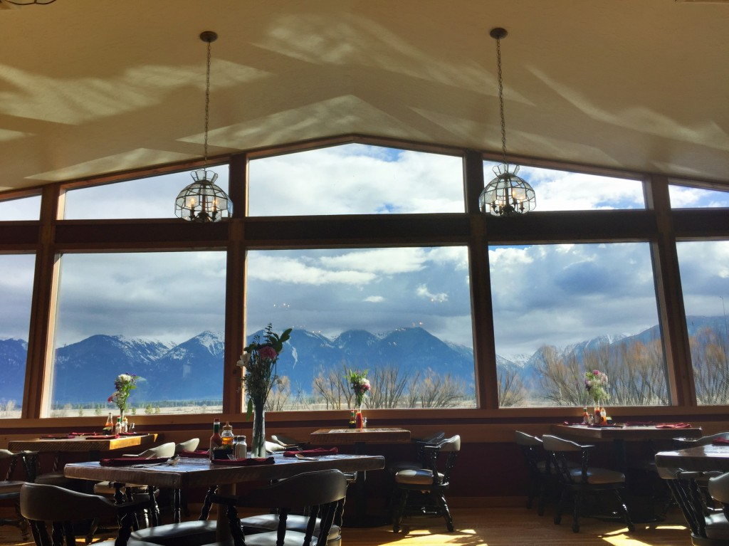Up next: my favorite dining room view in all of Montana at Ninepipes Lodge.