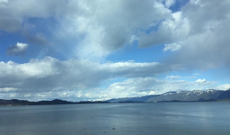 Hello, Flathead Lake.
