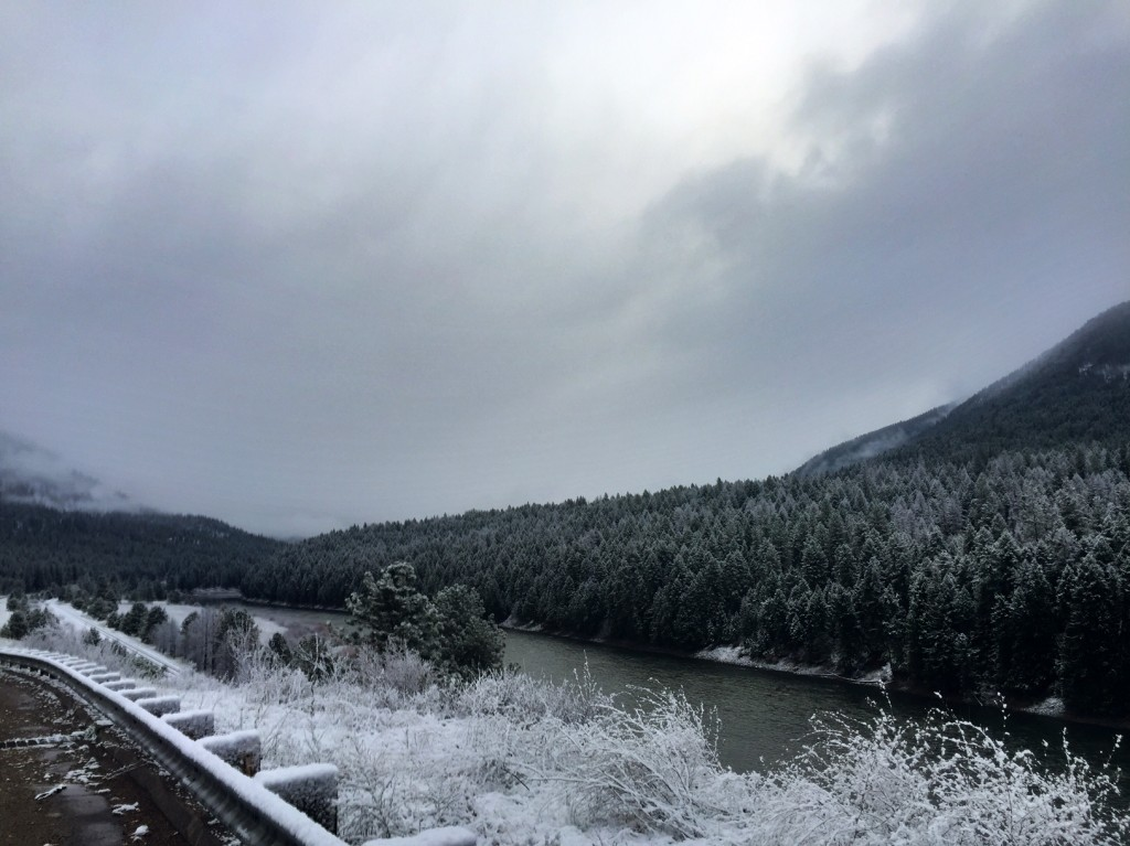 One of the overlooks along the St. Regis-Paradise Scenic Byway.