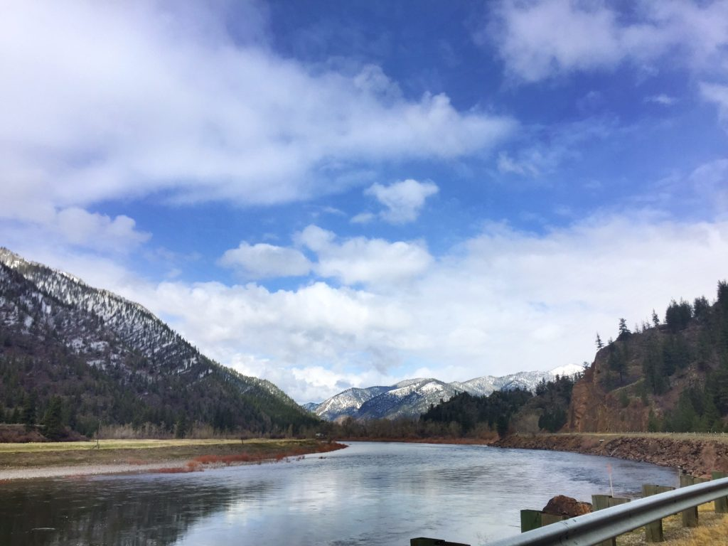 "Our new tagline: ""Montana looks fake but is totally real"" (courtesy of my friend Angie) totally applies to this view."