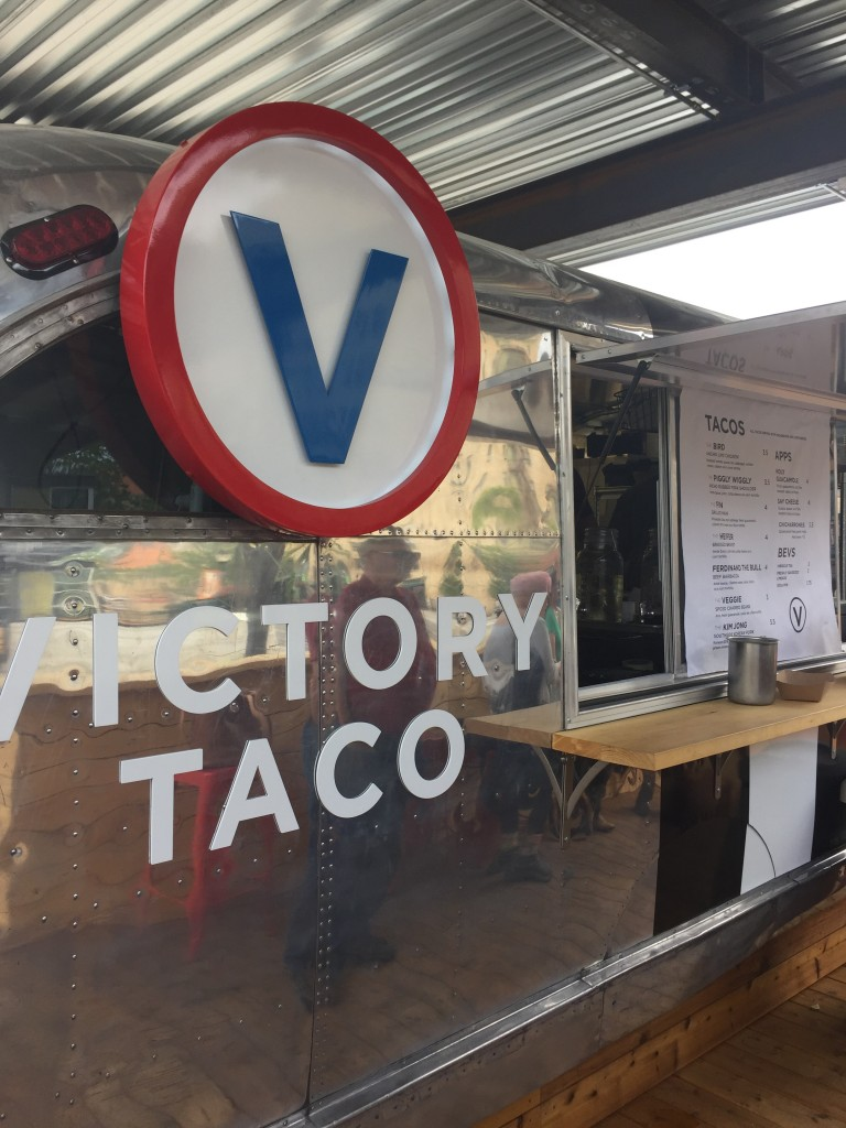 If I ever go missing, it's because I'm living inside Victory Taco.
