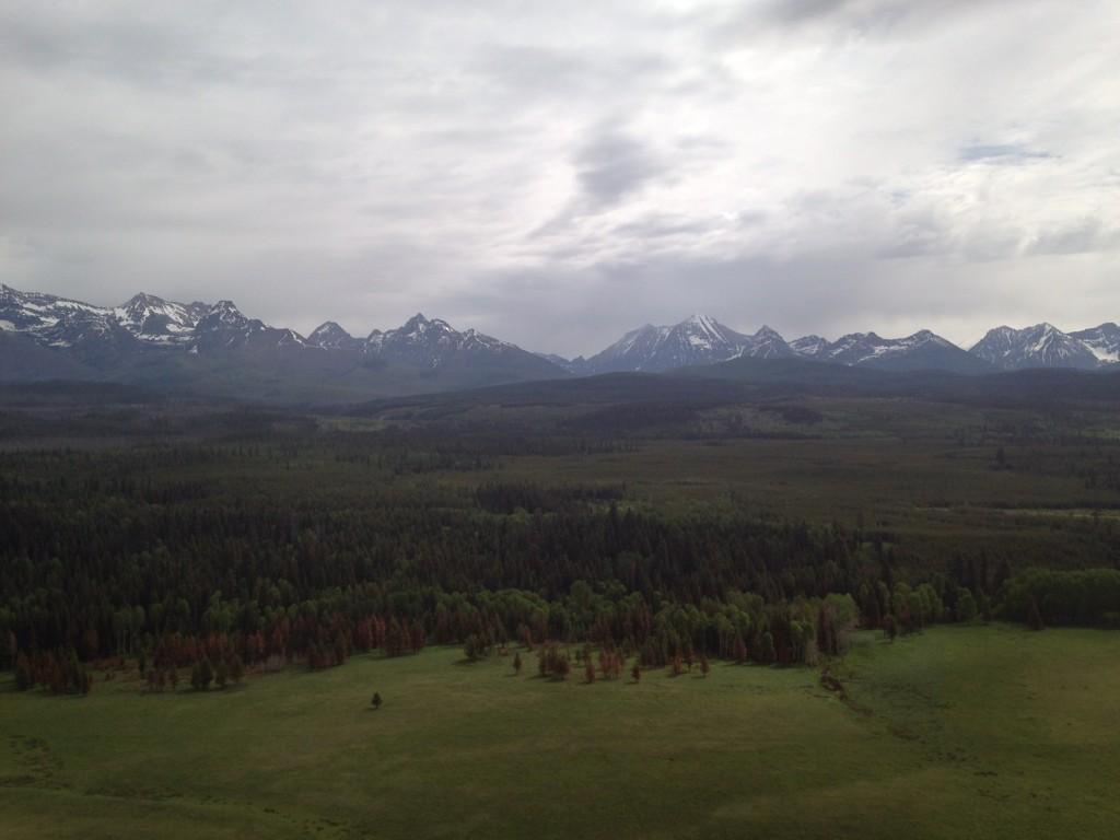 Oh hello, Glacier National Park.