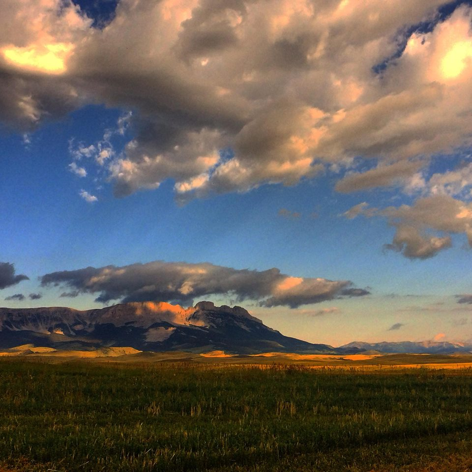 The expansive Rocky Mountain Front. Photo courtesy Maria Neal