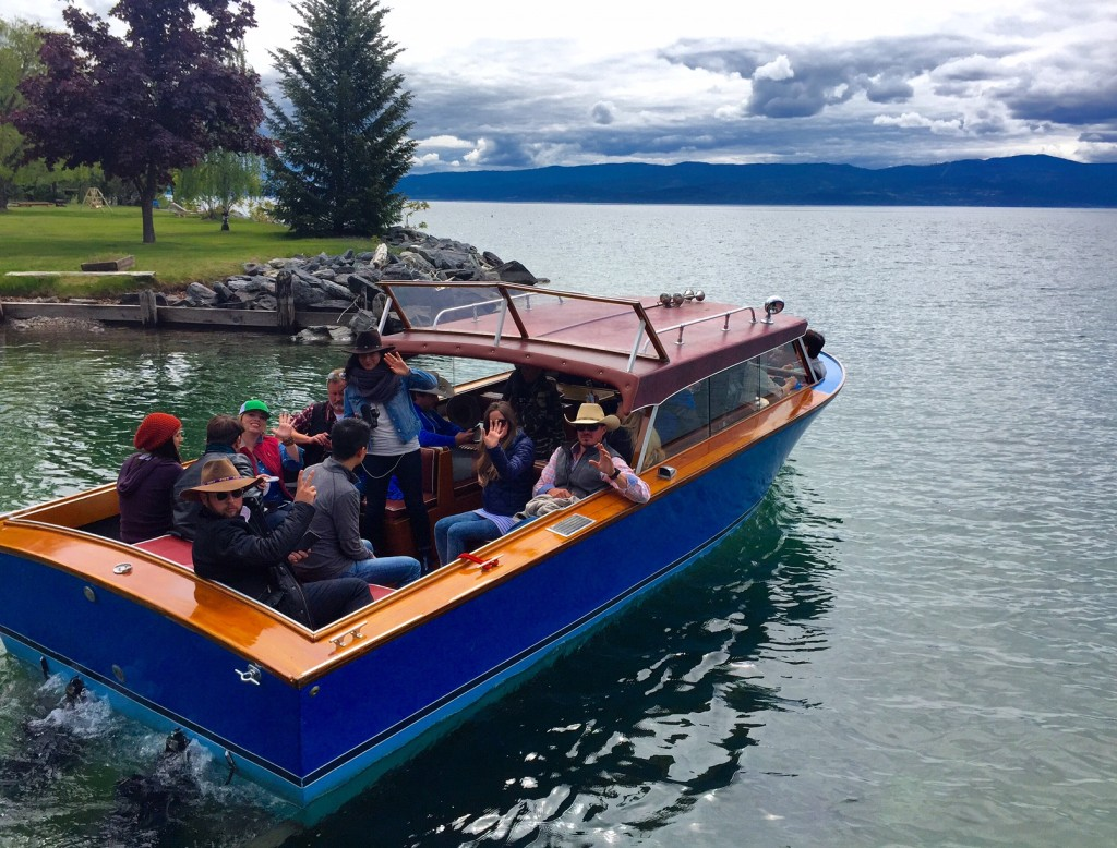 One of the (many) cool things about Flathead Lake Lodge: it has waterfront access to the largest freshwater lake in the West.