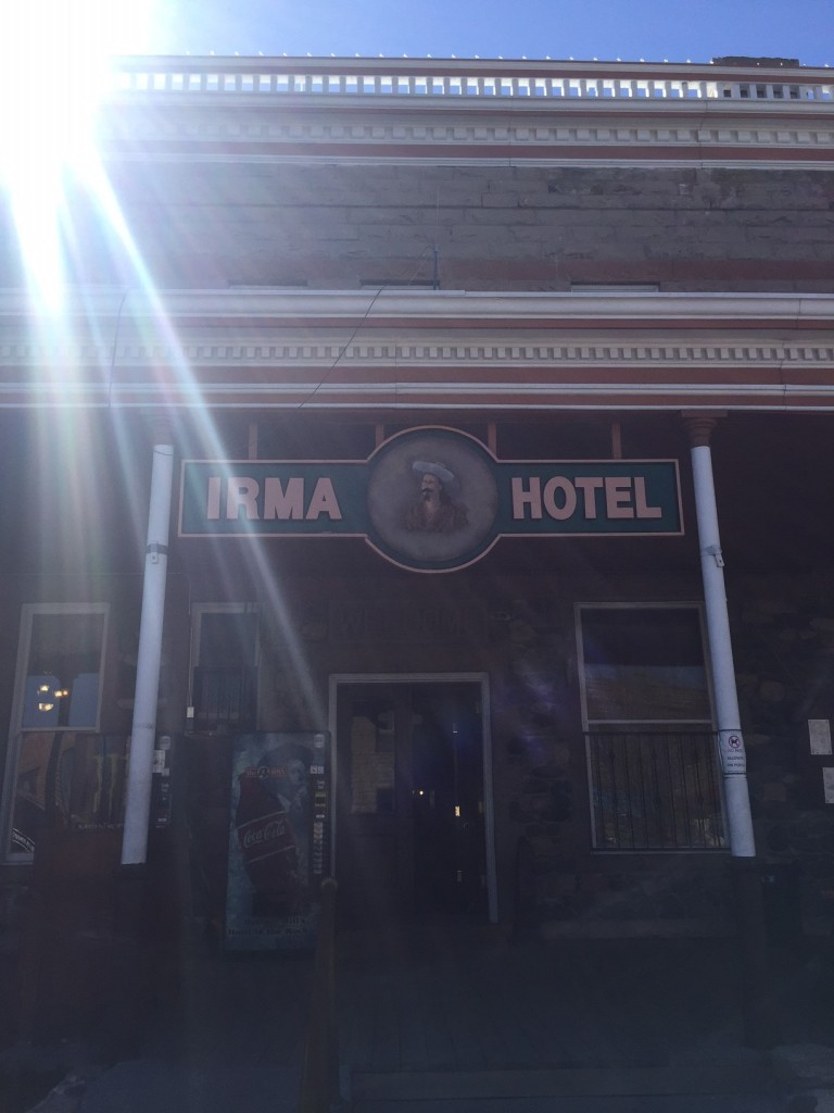 Oh hey historic hotel, named for Buffalo Bill Cod's daughter Irma.