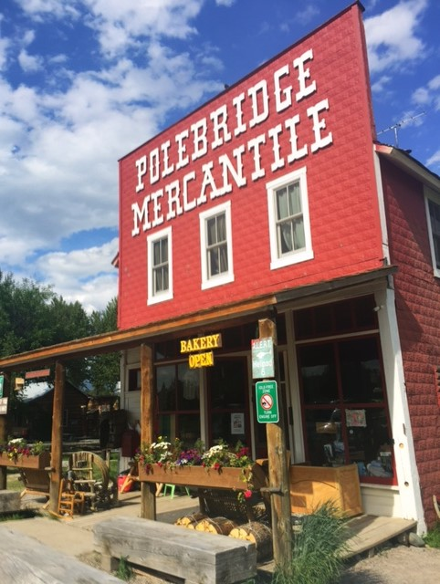 The famous Polebridge Mercantile.