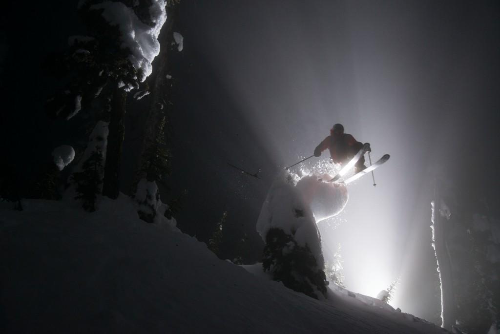 Night skiing at Whitefish Mountain Resort. Photo: WME