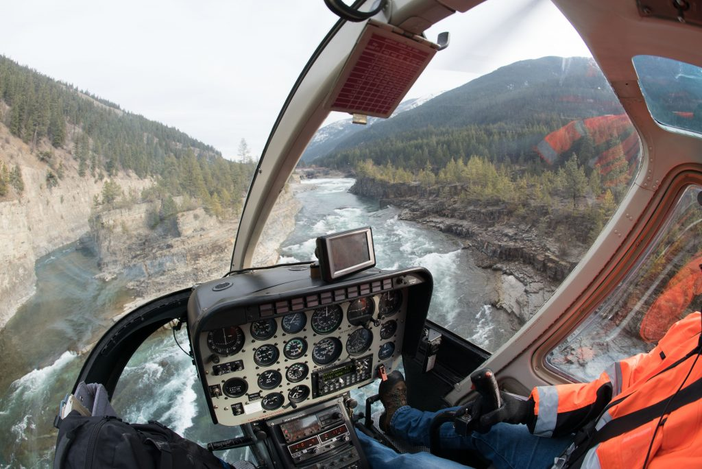 Taking in the view over the Kootenai River near Libby. Photo: WME