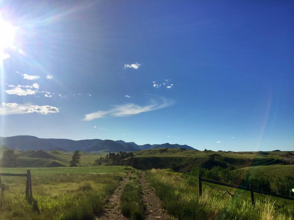 Country roads, take me home.