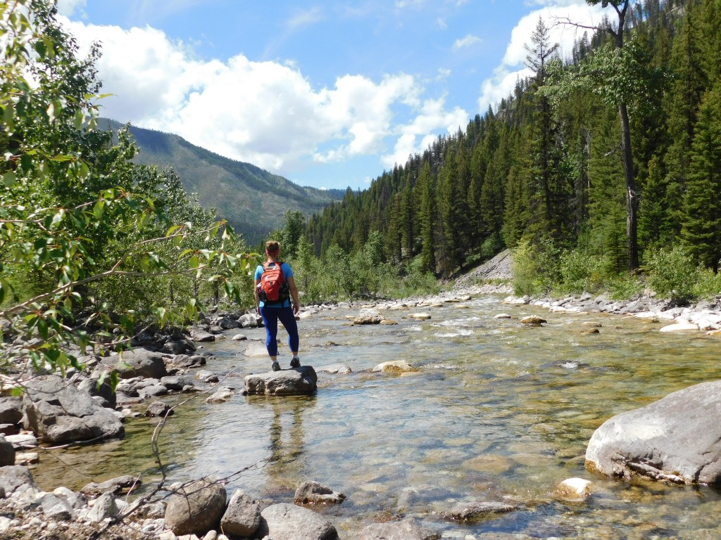 PSA: I love riding horses...but you don't have to be a horseman to enjoy the Bob Marshall Wilderness. Its trails are also perfect for hiking.