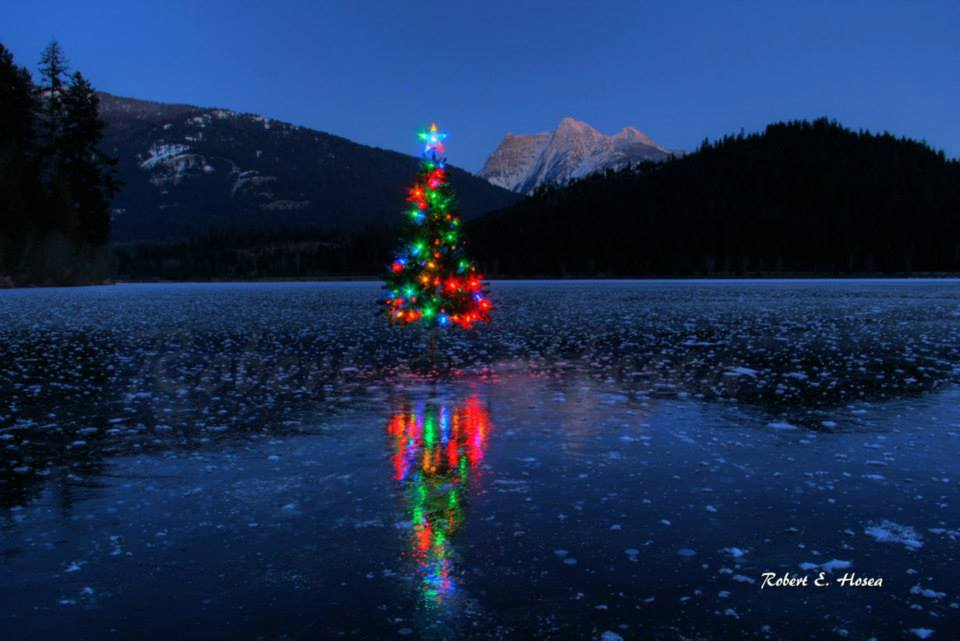 The Christmas spirit is alive and well in Montana. Photo: TheBobFactor