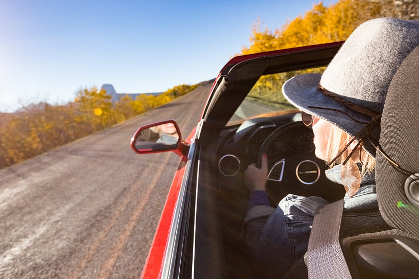 A favorite fall memory: driving Chief Mountain Highway.