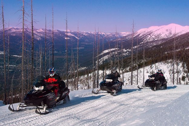 Slay the Snow: Sled Epic Terrain in Western Montana