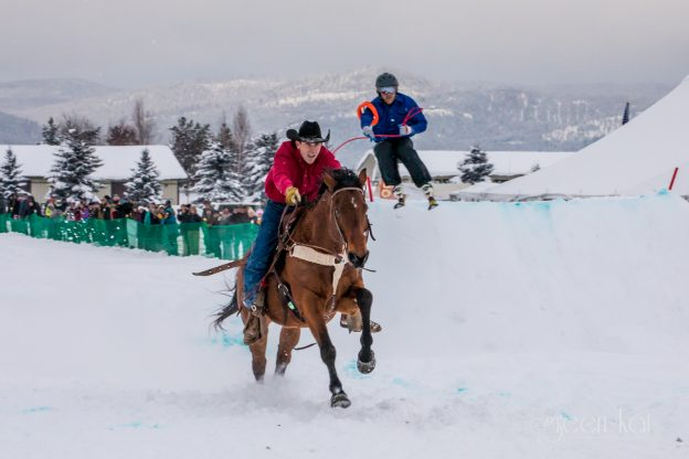 Skijoring: Winter in Glacier Country Just Got Even Cooler