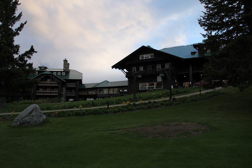 Glacier Park Lodge in East Glacier, MT