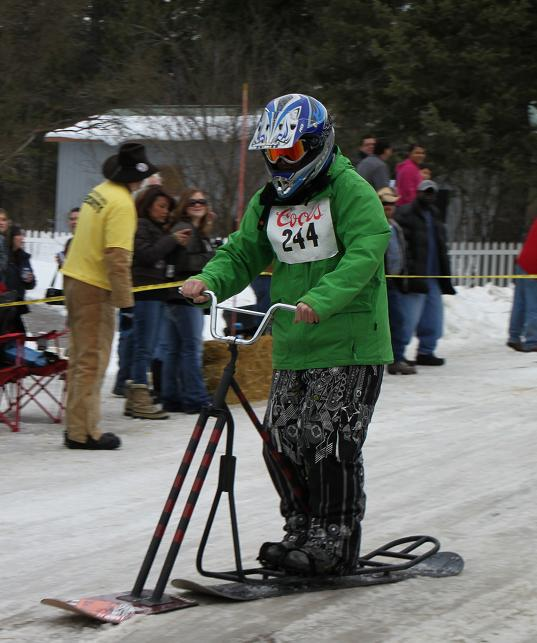 Bar Stool Races? Yes, Please.