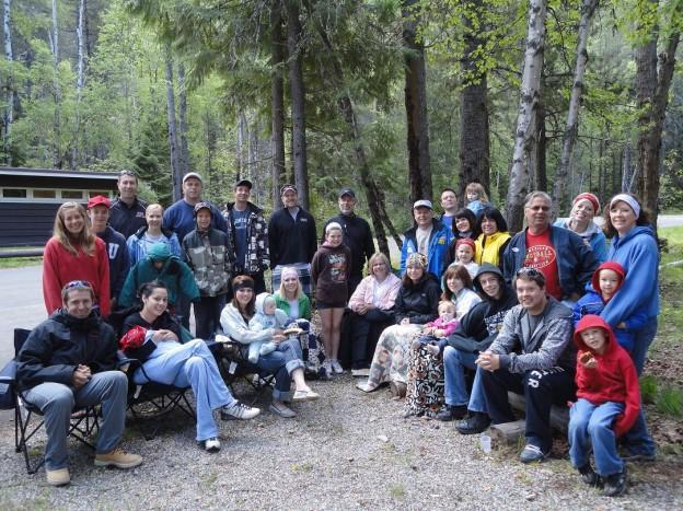 A Glacier National Park Family Reunion