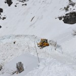 Plowing Glacier National Park's Going-to-the-Sun Road
