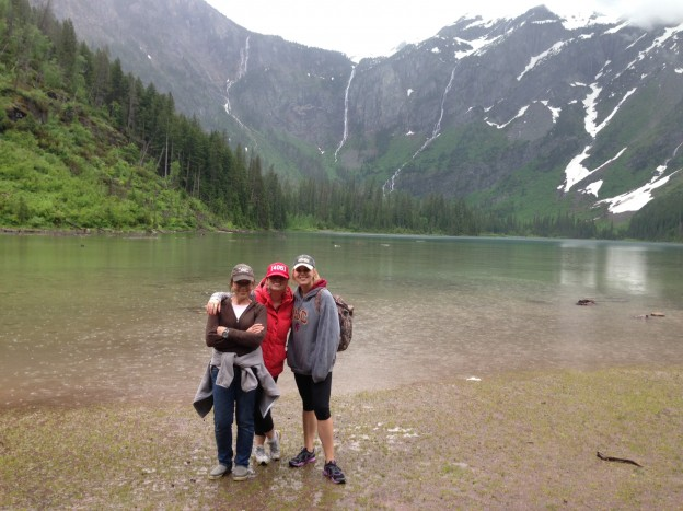 A Weekend of Family in Glacier National Park