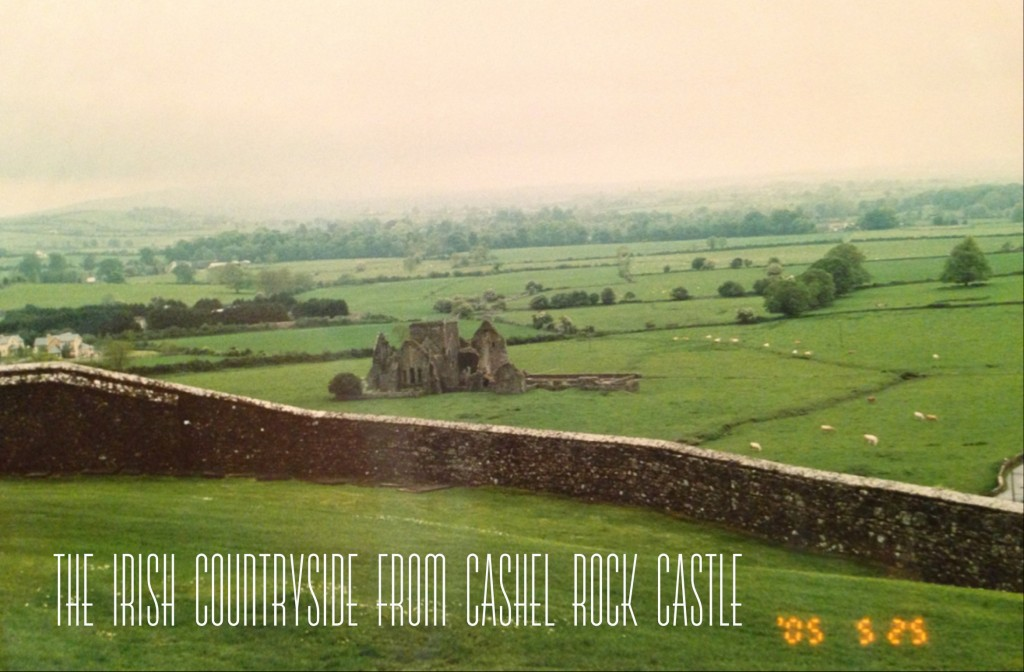 Cashel Rock Castle, one of my favorite places in Ireland.