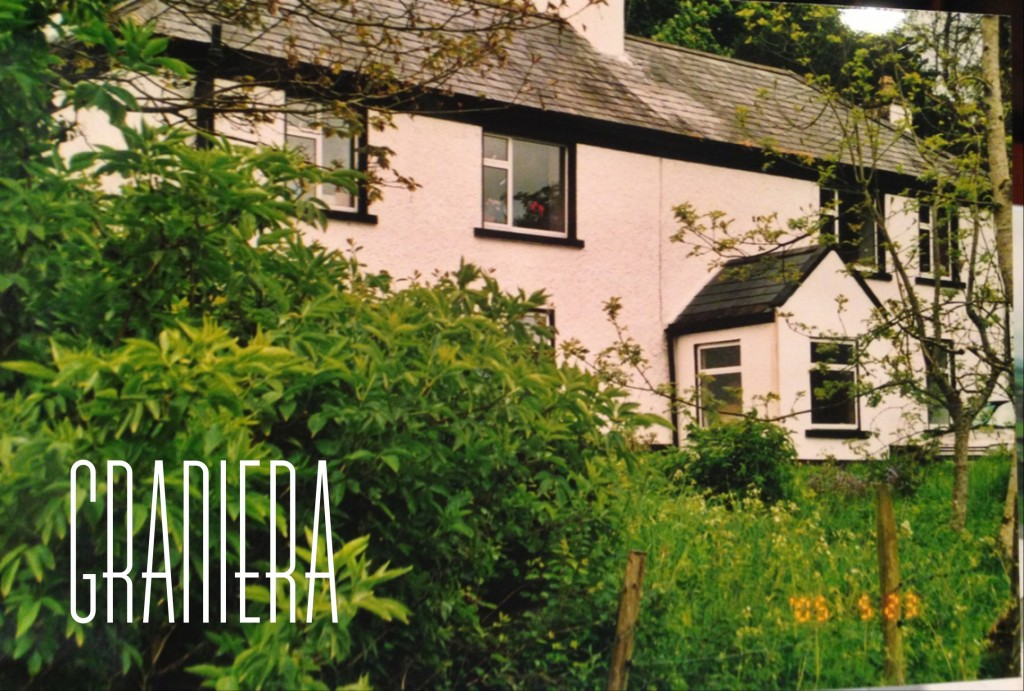 One of the family homes, Graniera. This is where my great-grandpa was raised and it's still in the family.