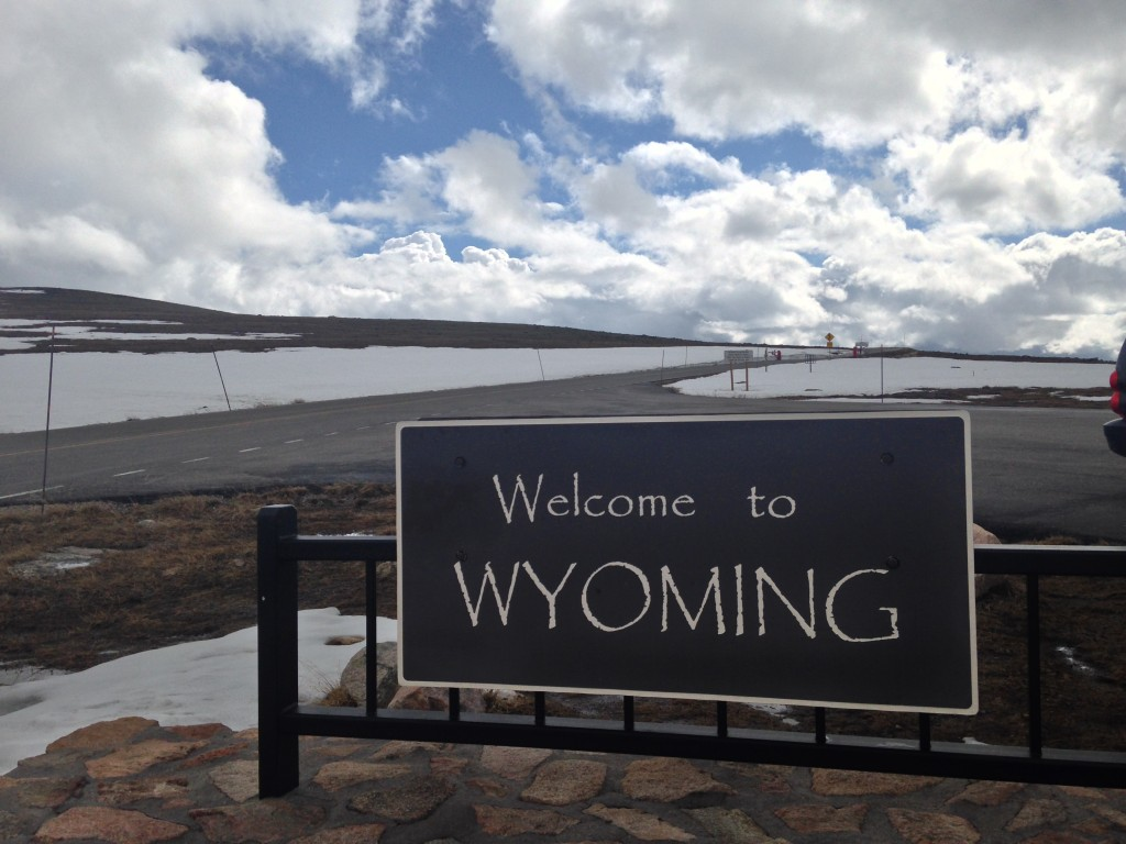 Goodbye, Wyoming.