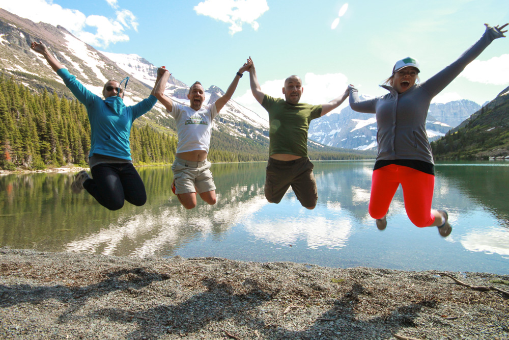 This is how much we love Glacier National Park.