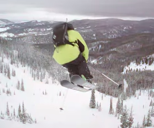 "Montana Shows Off in Warren Miller's ""No Turning Back"""