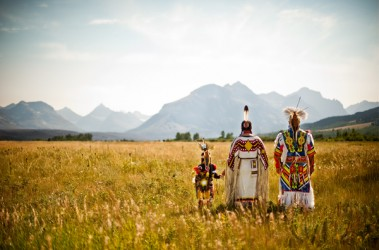 The Blackfeet Nation lies on the eastern border of Glacier National Park.