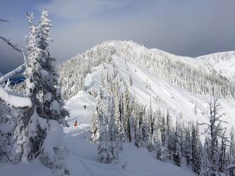 The terrain outside of the yurt. Photo courtesy of my pal, Brody Leven.